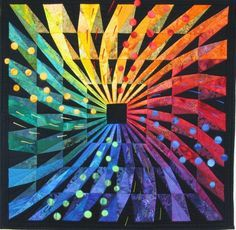 Feuerwerk (Fireworks) by Martha Roggli (Switzerland). Featured at the Bernina blog.
