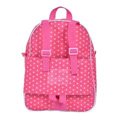 Costway - 18   Doll Travel Carrier Backpack Cute Schoolbag Storage Bag Kids  Girls Pink - Walmart.com 062211c3ec6f9