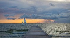 #Sunset #Sail by Liesl Walsh #LookTowardstheSky