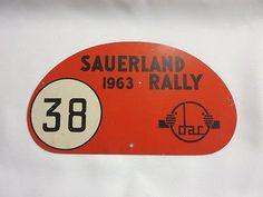 1963-Sauerland-Rally-Car-Club-Rallye-Plate-Plaque-38