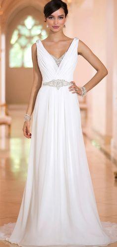 vestido de novia, bridal dress                                                                                                                                                     Más   Supernatural Style | https://styletrendsblog.blogspot.com/