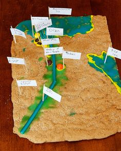 Cookie Maps of ANCIENT EGYPT. That's what I am talking about, don't waste a good craft. Be sure you can eat it too!  lol