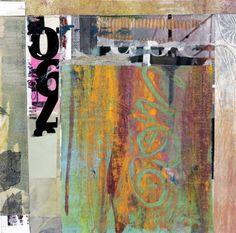 "Saatchi Art Artist Joan Schulze; Collage, ""New Haiku 02"" #art"