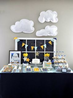 Shannanigans: Twinkle Twinkle Little Party (I am in LOVE with the window backdrop)