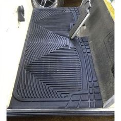 Rubber golf cart floor mats have water channels that make it easy to hose off. They are pre-cut so super easy to install. Protect your cart from sand, rocks and debris with a golf cart floor mat.