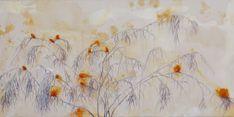 Birds by Carmela Weiss on Artfully Walls