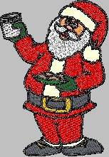 Free Christmas tajima .dst gran free embroidery designs freebies