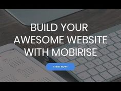 awesome Build Your Awesome Website With Mobirise Website Builder Check more at http://sherwoodparkweather.com/build-your-awesome-website-with-mobirise-website-builder/