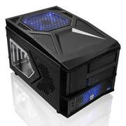 Look good attending LAN parties with this Thermaltake cube case with black bulletproof armor design & metal mesh elements.  Thermaltake ARMOR A30 VM70001W2Z No PS Gaming Cube Case (Black)