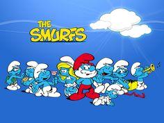 The Smurfs...