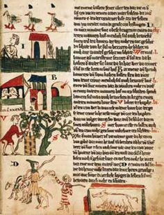 Wolfenbütteler Sachsenspiegel Medieval Manuscript, 14th Century, Art Boards, Vintage World Maps, Camps, History, Culture, Tools, Heidelberg