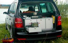 Vanessa Küchenmodul - Campingausbau für VW Touran