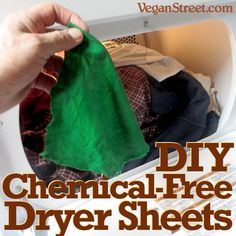 DIY Chemical Free Drier Sheets