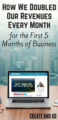 We'll shed some insight into this whole make money online thing and show that anyone can find success with it! Start a blog today at http://createandgo.co/doubled-revenues-first-5-months-business/