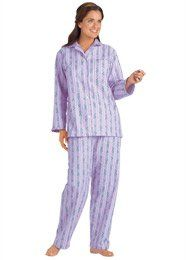 100% Cotton Flannel Pajamas - Women`s Sizes $7.99