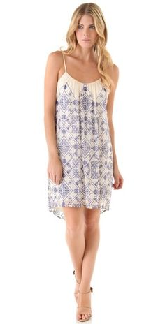 Shopbop...Twelfth St. by Cynthia Vincent...Mini High Low Cascade Dress...Lovely