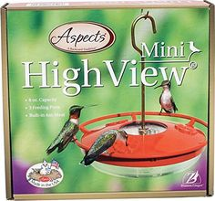 ASPECTS 430 Hummzinger Highview Mini Hummingbird Feeder -- Remarkable product available now. : Feeding and Watering Supplies