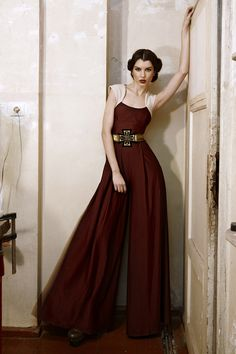 KNAPP The Post-war collection A/W 12/13 on Fashion Served