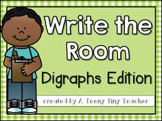 Digraphs and a Freebie! - A Teeny Tiny Teacher