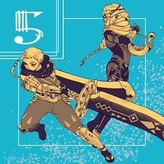 The Legend of Zelda series and Hyrule Warriors, Impa and Sheik / 「ゼルダ無双」/「ちょーこ」の漫画 [pixiv] [01]