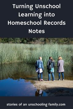 Why would I want to turn something as unique and wonderful as unschooling into routinehomeschool records notes? I wish I could take delight in my daughters' learning without ever thinking ab…