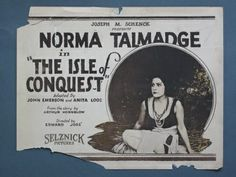The Isle of Conquest (1919)