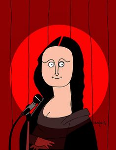 Stand up comedy [Francisco Munguía on FLICKR] (Gioconda / Mona Lisa)