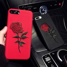 3D Embroidered Rose Floral Phone Case Protective Cover for iPhone X 6 8 7 Plus | Cell Phones & Accessories, Cell Phone Accessories, Cases, Covers & Skins | eBay!