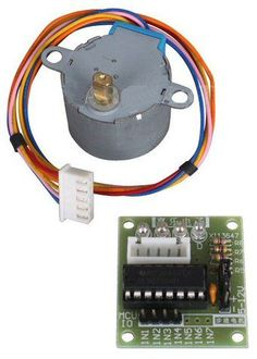 All about this basic geared stepper motors and driver kit
