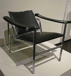 Le Courbusier. Armchair 301, 1929. LACMA