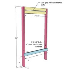 Ana White   Build a Folding Deck, Beach or Sling Chairs, Child Size   Free and Easy DIY Project and Furniture Plans