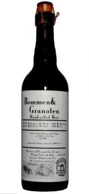 Cerveja De Molen Bommen & Granaten, estilo Barley Wine, produzida por Brouwerij de Molen, Holanda. 15.2% ABV de álcool.