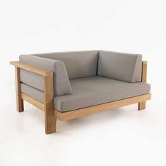 Cabo Teak Outdoor Club Chair
