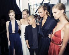 50 of the Best Backstage Moments from the Spring 2015 Shows – Vogue, Jason Wu, New York   Photographed by Taylor Jewell