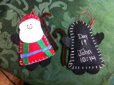 Shepard ornaments for a meaningful Christmas