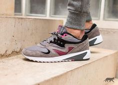Saucony Grid 8000 CL: Charcoal/Pink