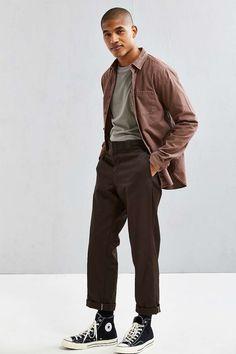 UO Fuzzy Flannel Button-Down Shirt UO Fuzzy Flannel Button-Down Shirt – Urban Outfitters Neo Grunge, Grunge Style, Soft Grunge, Tokyo Street Fashion, Men Street, Street Wear, Grunge Outfits, Fashion Outfits, Fashion 2016