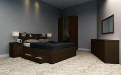 MOSMAN 4 PIECES BEDROOM SUITE HTDLFBS368