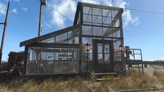Post with 1195 votes and 54916 views. Shared by Fallout 4 greenhouse and veggie stand- no mods Base Building, Building A House, Fallout 4 Tips, Fallout Vault, Ps4 Mods, Fallout 4 Settlement Ideas, The Settlers, Small Greenhouse, Fall Out 4