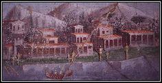 Fresque de la maison de Lucretius Frontius, 1er siècle.