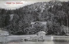 Hankösund, Mulvads villa. Hankø, Fredrikstad kommune. Tidlig 1900-tall? Foto: Fr. Giebelhausen Utgiver: Sigurd Østbergs forlag, Fr. stad