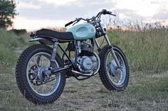 pinterest.com/fra411 #classic #motorbike - Yamaha SR250 cafe racer built by the English motorcycle workshop Auto Fabrica.