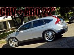 Honda Crv On 24'S That's So Awesome :-)