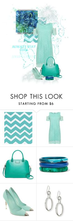 """cool"" by silver-sun ❤ liked on Polyvore featuring WearAll, Kate Spade, Dinosaur Designs, Gianvito Rossi and Ippolita"