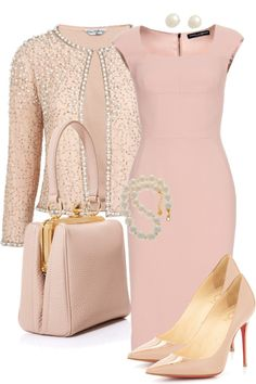 Take a look at the best pretty dresses for work in the photos below and get ideas for your own outfits! Work outfit by featuring special occasion dresses Dolce & Gabbana Crepe Dress / Miss Selfridge… Continue Reading → Classy Outfits, Chic Outfits, Dress Outfits, Fashion Dresses, Woman Outfits, Work Fashion, Fashion Looks, Fashion Ideas, Fashion 2018