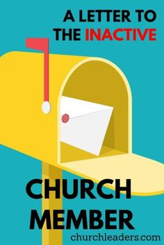 Did church burn you out? Tired of ministry? Not attending Sunday services? Whether it's you or someone you know, read this heartfelt letter to the inactive church member. Music Ministry, Church Ministry, Youth Ministry, Sunday School Teacher, Sunday School Lessons, Lds, Church Welcome Center, Church Outreach, Church Fellowship
