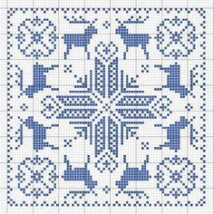 Cross stitch /// BISCORNU NOEL