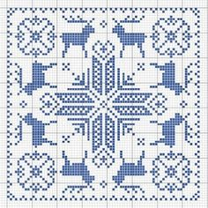 Cross stitch /// BISCORNU NOEL