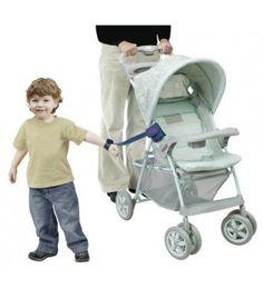 Mommy's Helper-Mommys Helper Padded Adjustable Stroller Strap, Blue