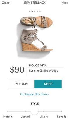 f0fb556c0e DOLCE VITA Loraine Ghillie Wedge from Stitch Fix. https://www.stitchfix